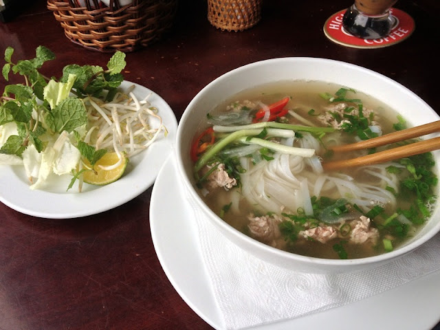 "Tasting ""Pho"" in Hanoi Old Quarter - why not?"