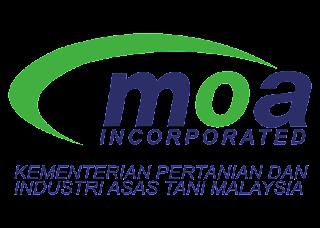 Kementerian Pertanian Dan Industri Asas Tani (MOA) Logo Vector