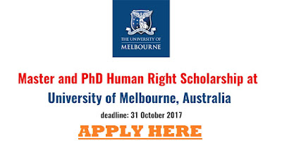 University of Melbourne Scholarships for International Students 2017/2018 (Study In Australia)