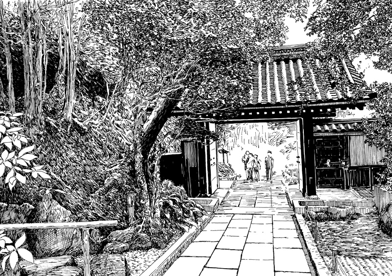 03-Evgenii-Sarychev-Japanese-Urban-Sketch-Drawings-www-designstack-co