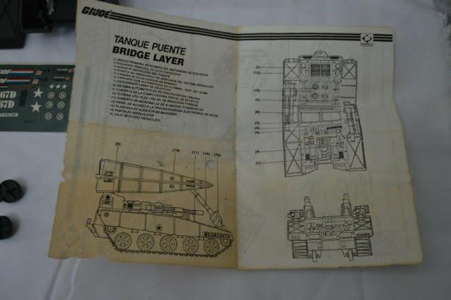 Plastirama, 1985 Bridge Layer, Comandos Heroicos, Argentina