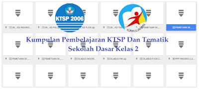 Kumpulan Pembelajaran KTSP Dan Tematik Sekolah Dasar Kelas 2
