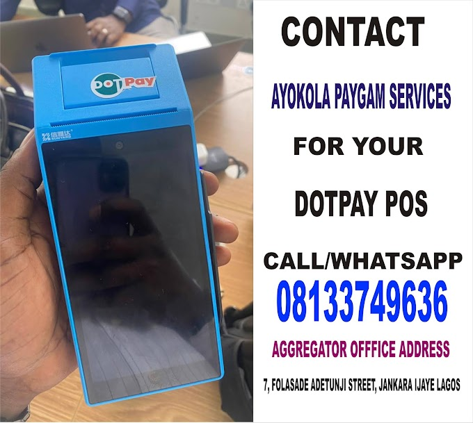 DotPay Pos - How to become Dotpay agent and Get pos Easily, Requirement, Target, Charges and Features