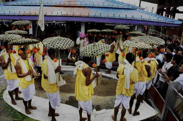 Rituals done during Kharchi Puja