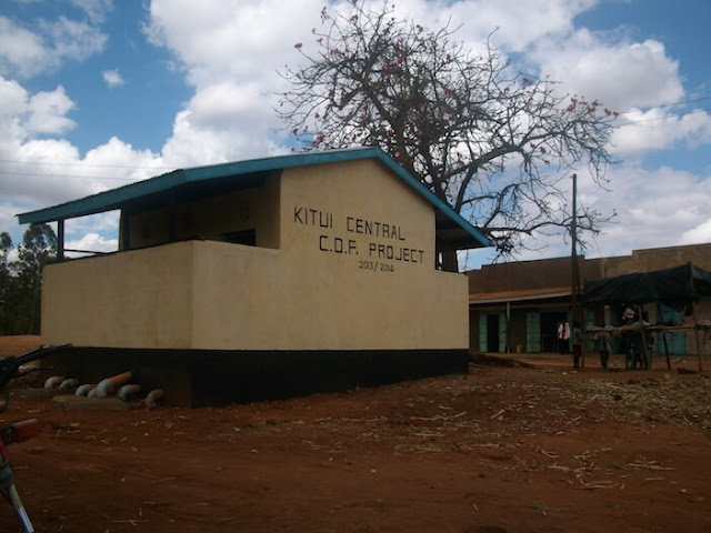 Form 3 student at a Yatta school in Kitui County