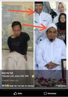 Foto Pelaku Penusuk Wiranto Mirip dengan Sosok Ini, Netizen Keliru