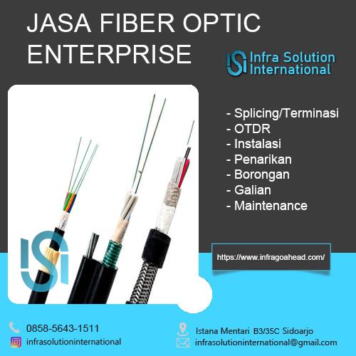 Jasa Splicing Fiber Optic Kediri Enterprise