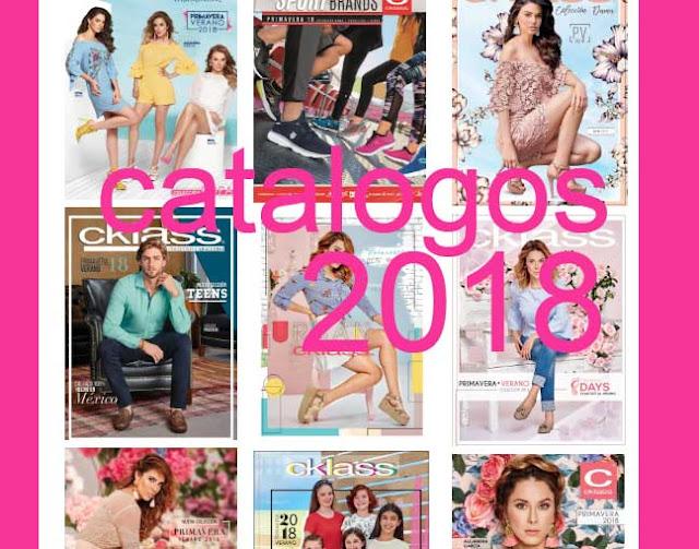 Catalogos digitales de cklass 2018 Primavera verano