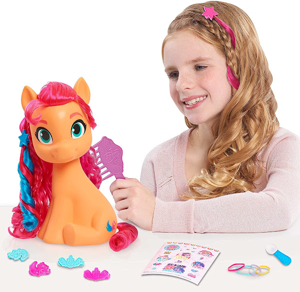 MLP Sunny Starscout Styling Head