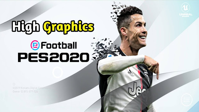 PES 2020 Mobile Patch V4.5.0 Android New Menu Logo And Kits 21 Update High Graphics