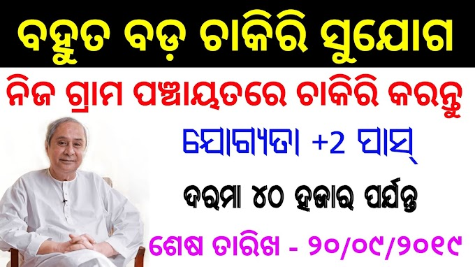 Recruitment in Nuapada District Gram Rozgar Sevak Posts Odisha Govt Job Sambalpur Diary