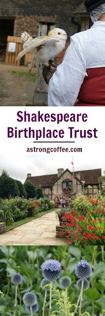 A review of the town houses and Mary Arden's Farm which are part of the Shakespeare Birthplace Trust