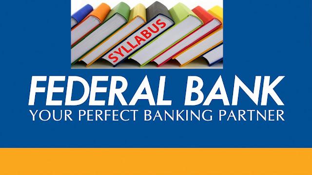 Federal Bank Syllabus Pdf Download Clerk/Officers Exam Paper Pattern