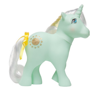 My Little Pony Sunbeam Unicorn and Pegasus Ponies Retro 35th Anniversary Ponies by Basic Fun