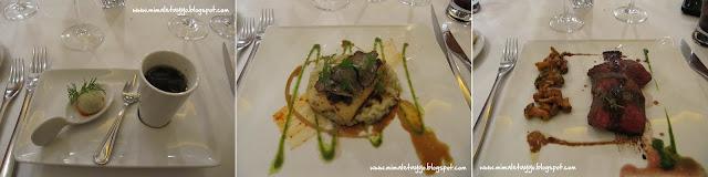 Cenando en La Table des Capucins, Montauban