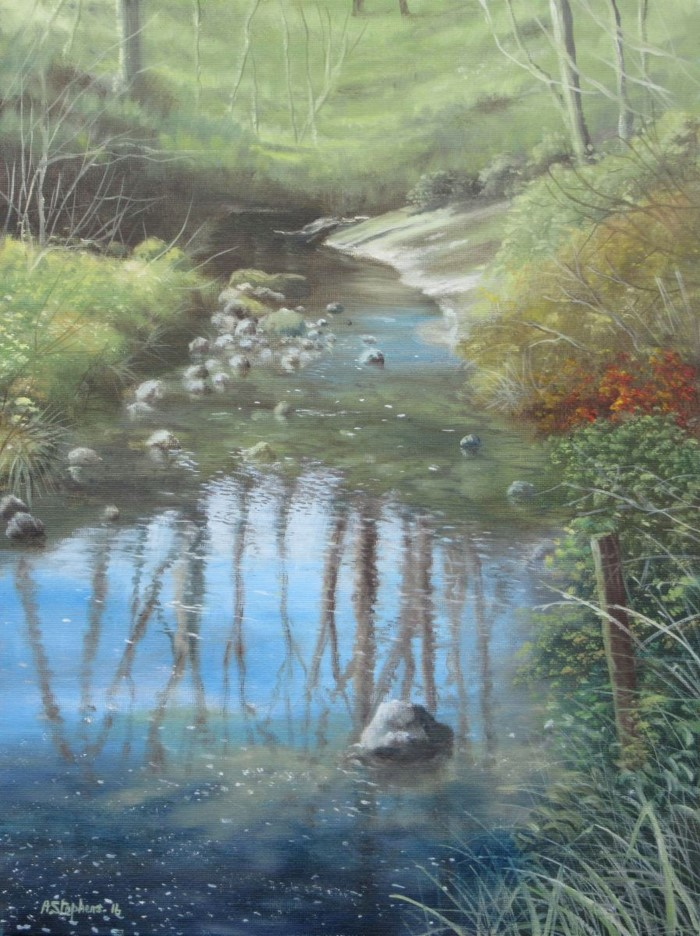 Британский художник. Alan Stephens