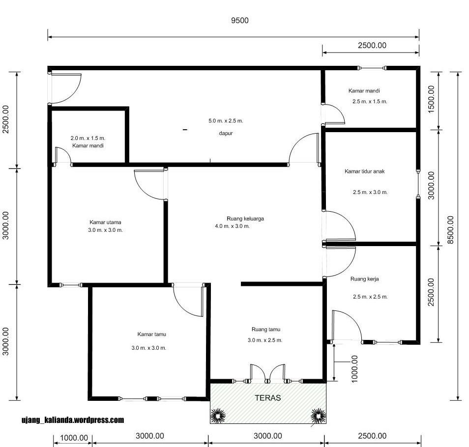 Desain  Rumah  2 Lantai Lengkap  Rumah  Minimalis Terbaru