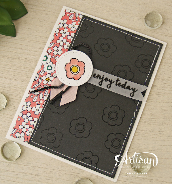 Pick a Pattern Suite from Stampin' Up! Quite versatile, and full of trendy imagery.