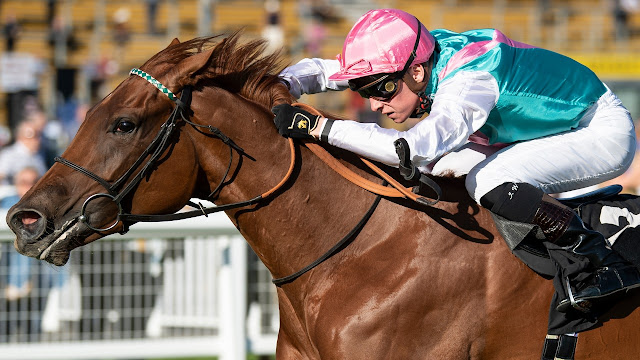 Quadrilateral win bet365 Fillies Mile (Group 1) at Newmarket for Roger Charlton ridden by Jason Watson