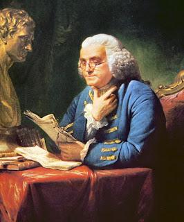 Benjamin Franklin, el inventor, político, científico, impresor...