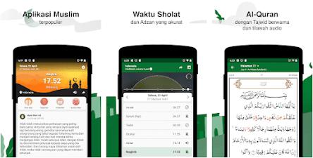 Aplikasi Adzan Otomatis - Muslim Pro