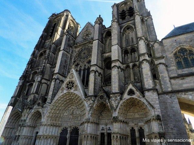 Catedral de Bourges, obra del arte gótico, Francia