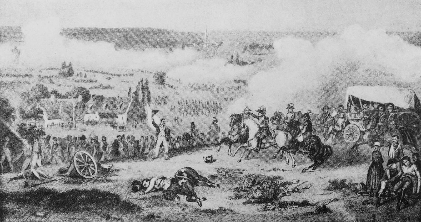 Bataille de Tourcoing, d'après tableau de Jollivet, Musée de Versailles