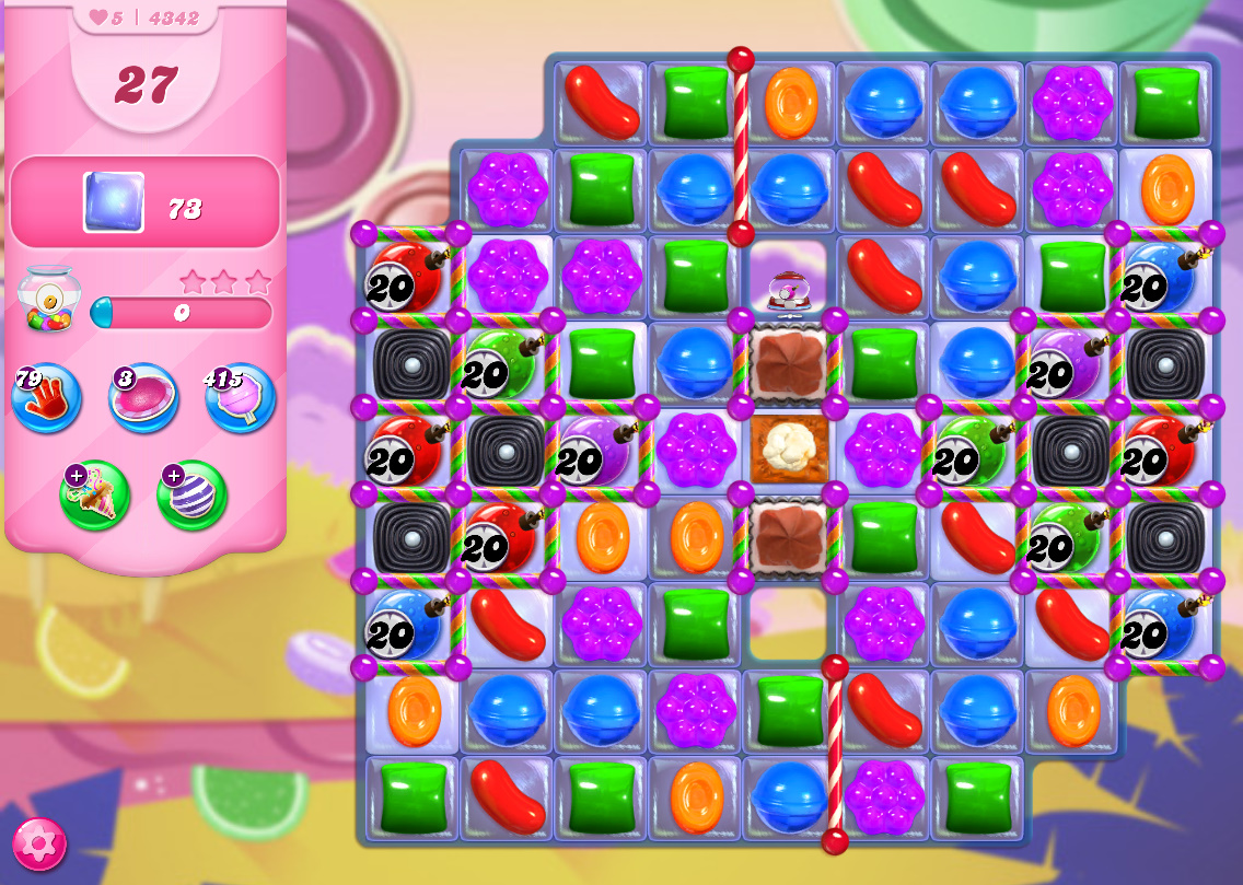 Candy Crush Saga level 4342