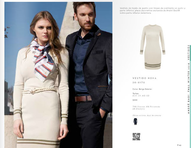 Catalogo Andre badi ropa  vestidos OI 2016