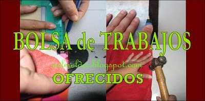 BOLSA DE TRABAJOS DE MARROQUINERÍA - OFRECIDOS