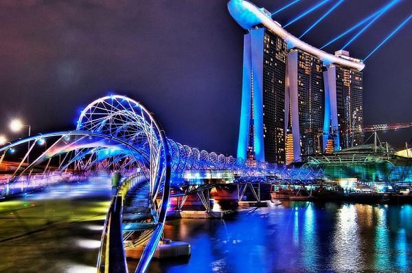 được tham quan thành phố Singapore