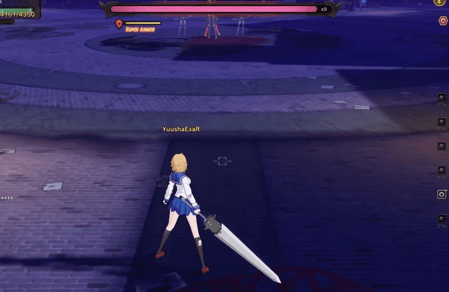 Soulworker Online gameplay