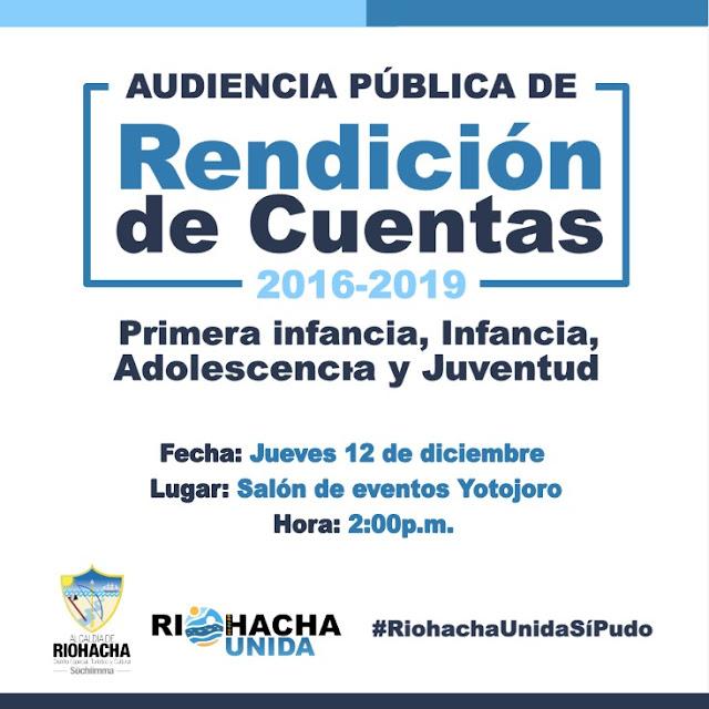 Riohacha Unida hoy presentará su Rendición de Cuentas