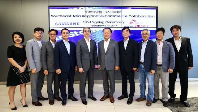 Samsung Asia partners SK Planet