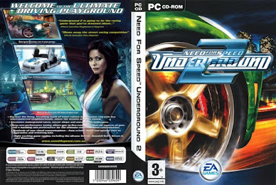 Jogo Need For Speed Underground 2 PC DVD Capa