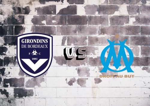 Bordeaux vs Olympique Marseille  Resumen