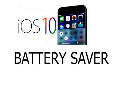 Cara Ampuh Menghemat Baterai Iphone IOS 10