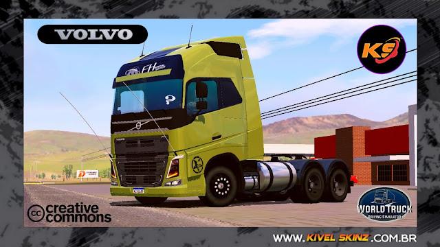 VOLVO FH16 750 - VERDE JUSTICEIRO