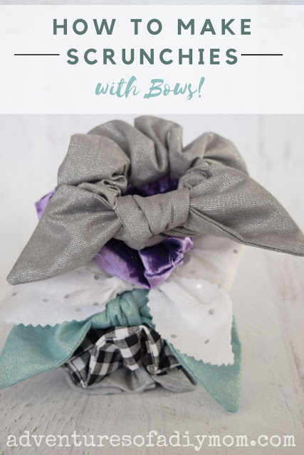 how to make a scrunchie bow