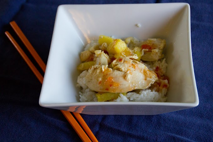 Orange Pineapple Chicken