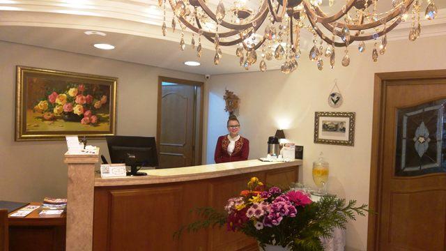 Destaque para todo o simpático staff do Hotel Ritta Höppner \