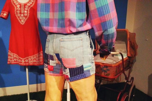 lata 70 moda Dania