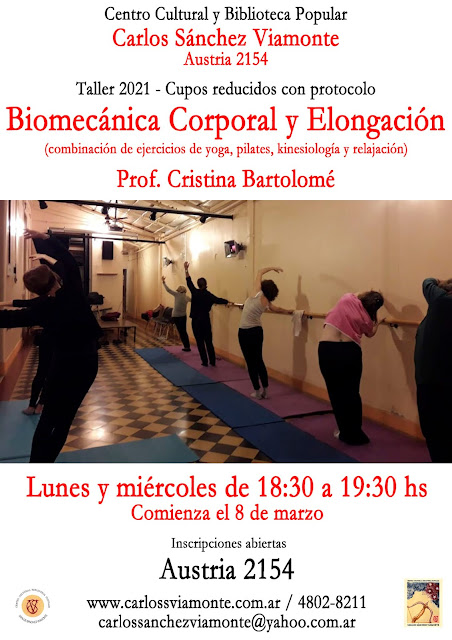 Biomecánica corporal y elongación