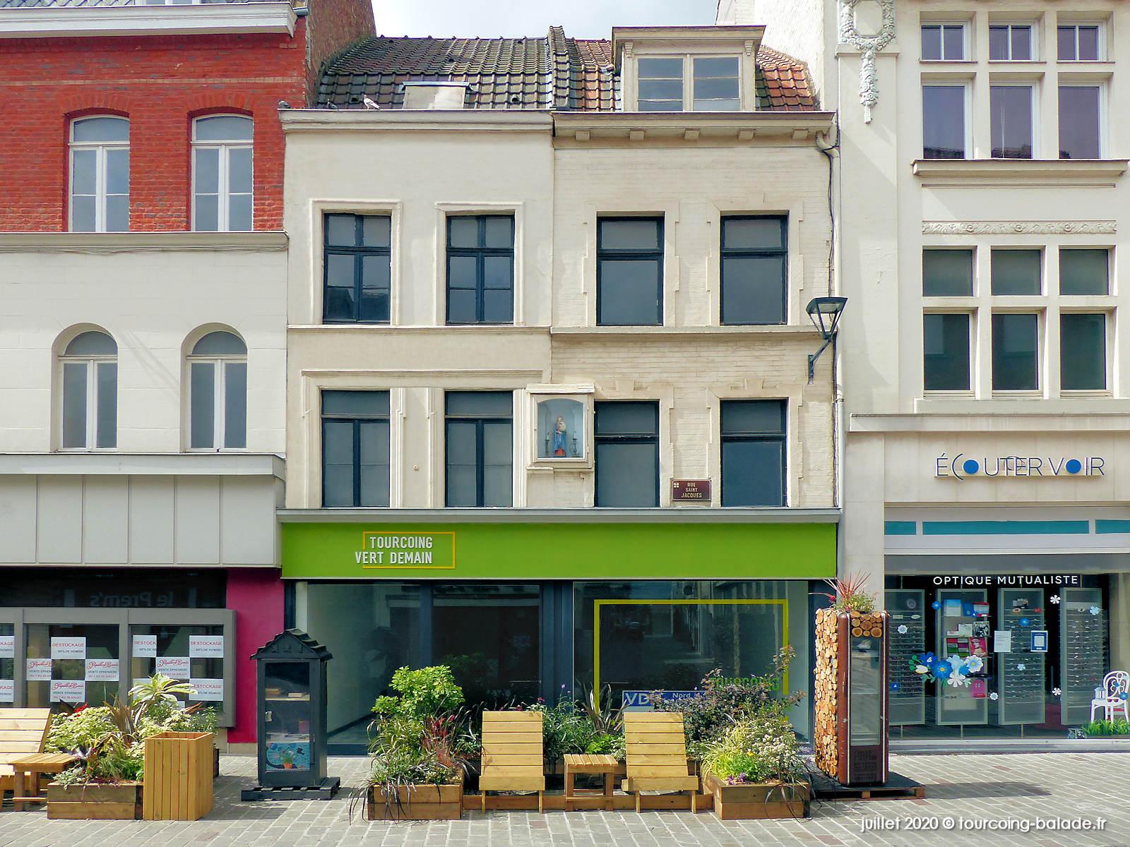 Photographies de Tourcoing, Rue Saint-Jacques 2020