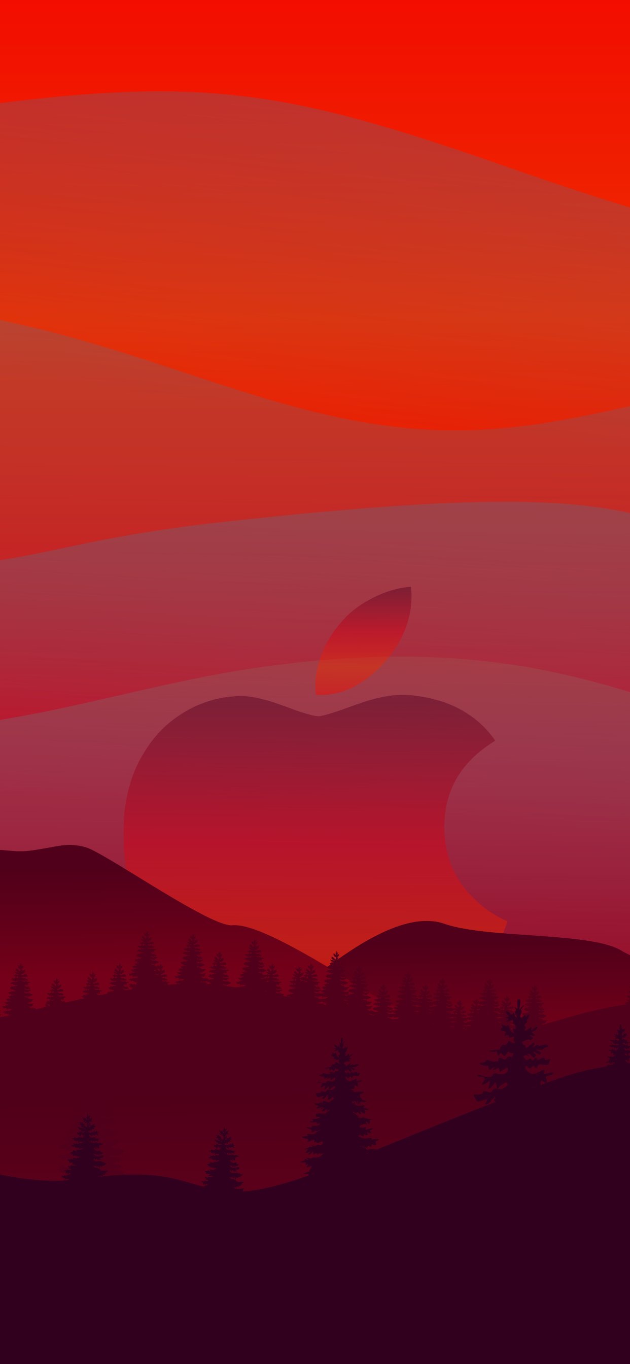 Apple red wallpaper iphone hd