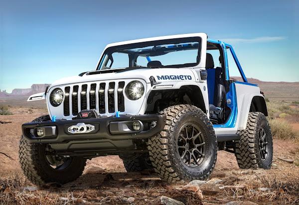 Jeep Magneto: inédita combinação de motor elétrico e câmbio manual