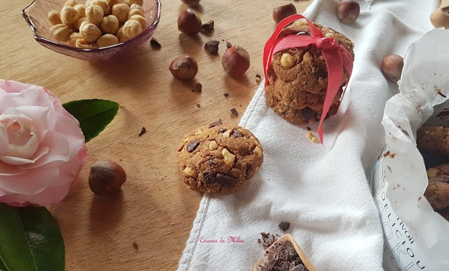 Cookies con harina de castañas  #singluten y #sinlactosa