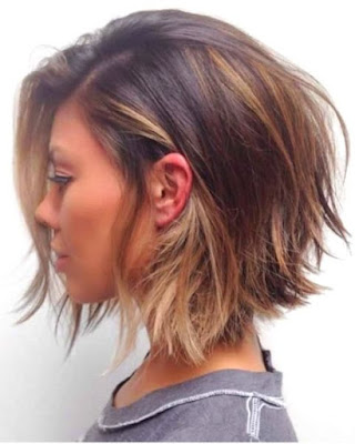 Bob Texture Layered Haircut - 20 Best Medium Layered Haircut - For Women Of All Ages