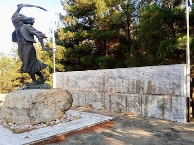 Χαλκιδική: Η «μαφία του χαλκού» έκλεψε την μπρούτζινη αναπαράσταση της Μάχης των Βασιλικών του 1821