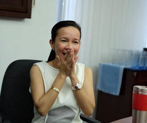 Senator Grace Poe leads latest Pulse Asia survey.